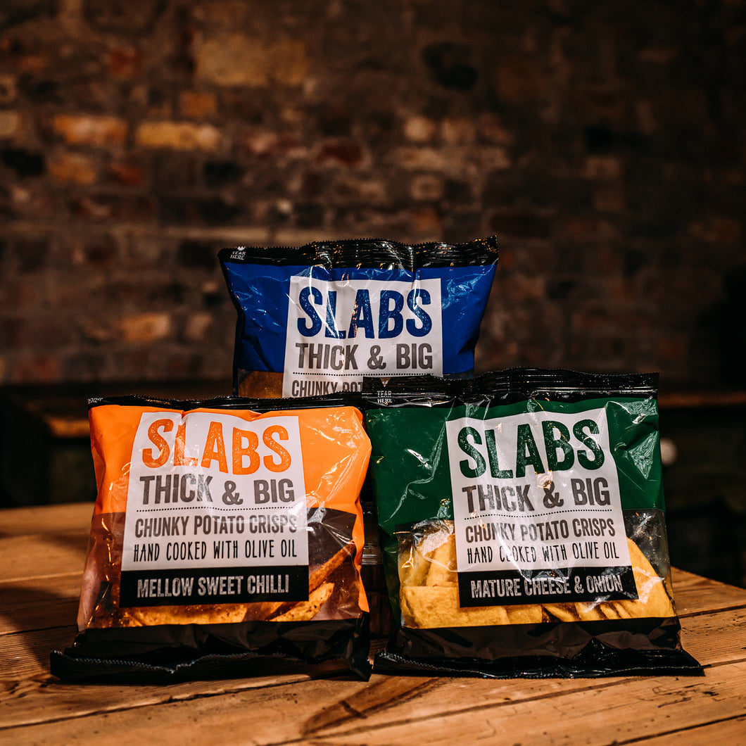 Slabs Thick & Big Potato Crisps