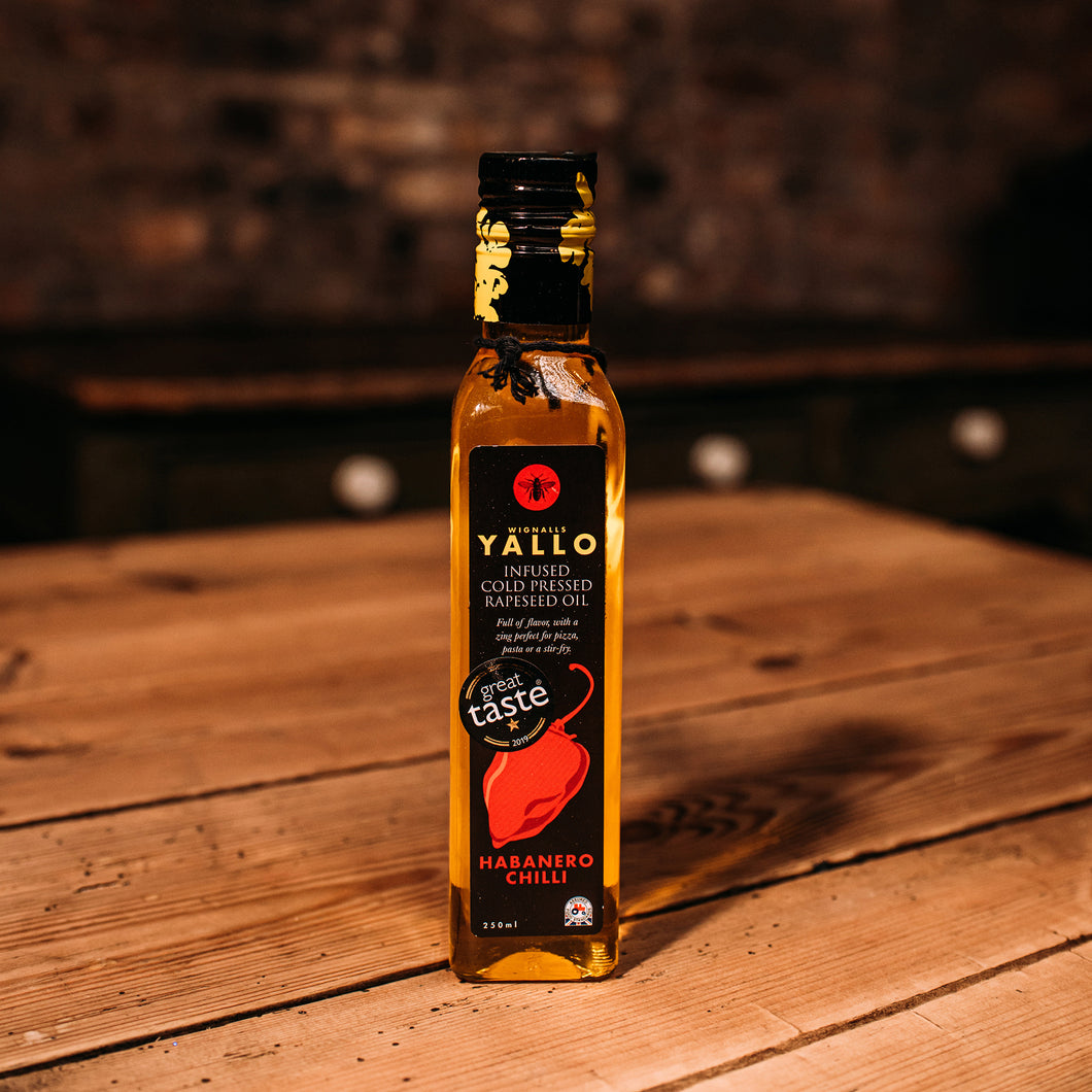 Yallo British Rapeseed Oil Habanero Chilli