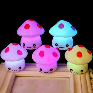 Color Changing LED Mushroom Toy