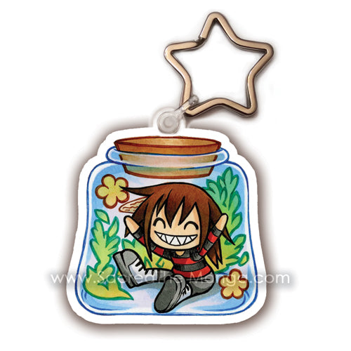 Chibi Sheko Potion Bottle Key Chain