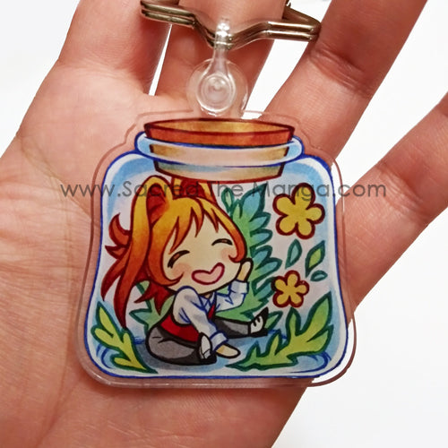 Chibi Cecero Potion Bottle Key Chain