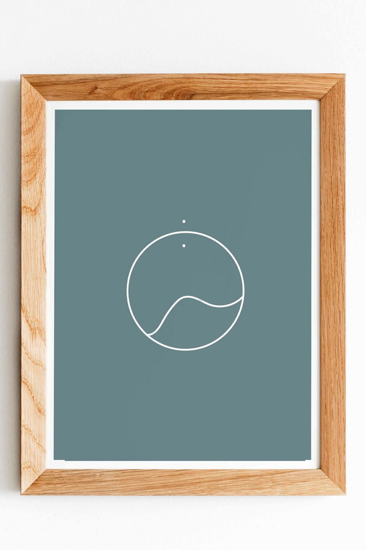 Circle of Life Surf Art Print Artflocke