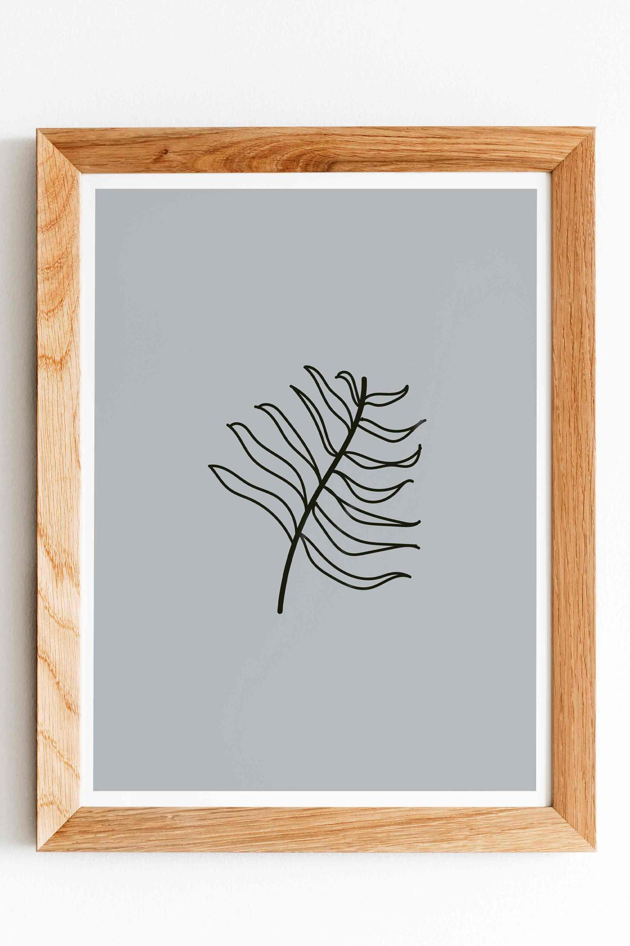 Leaf Surf Art Print Artflocke