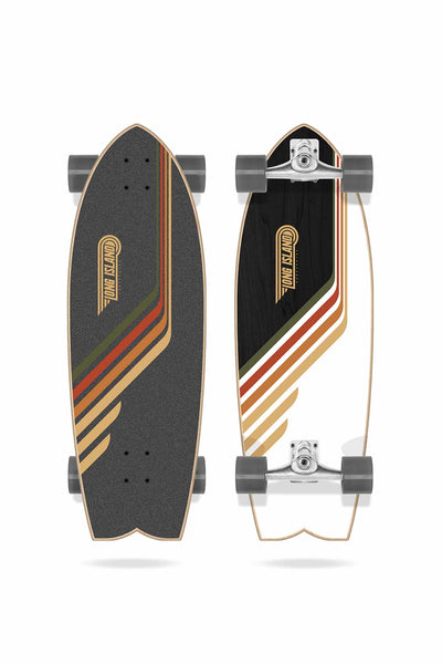 "Manly 30"" Surfskate Complete von Long Island"
