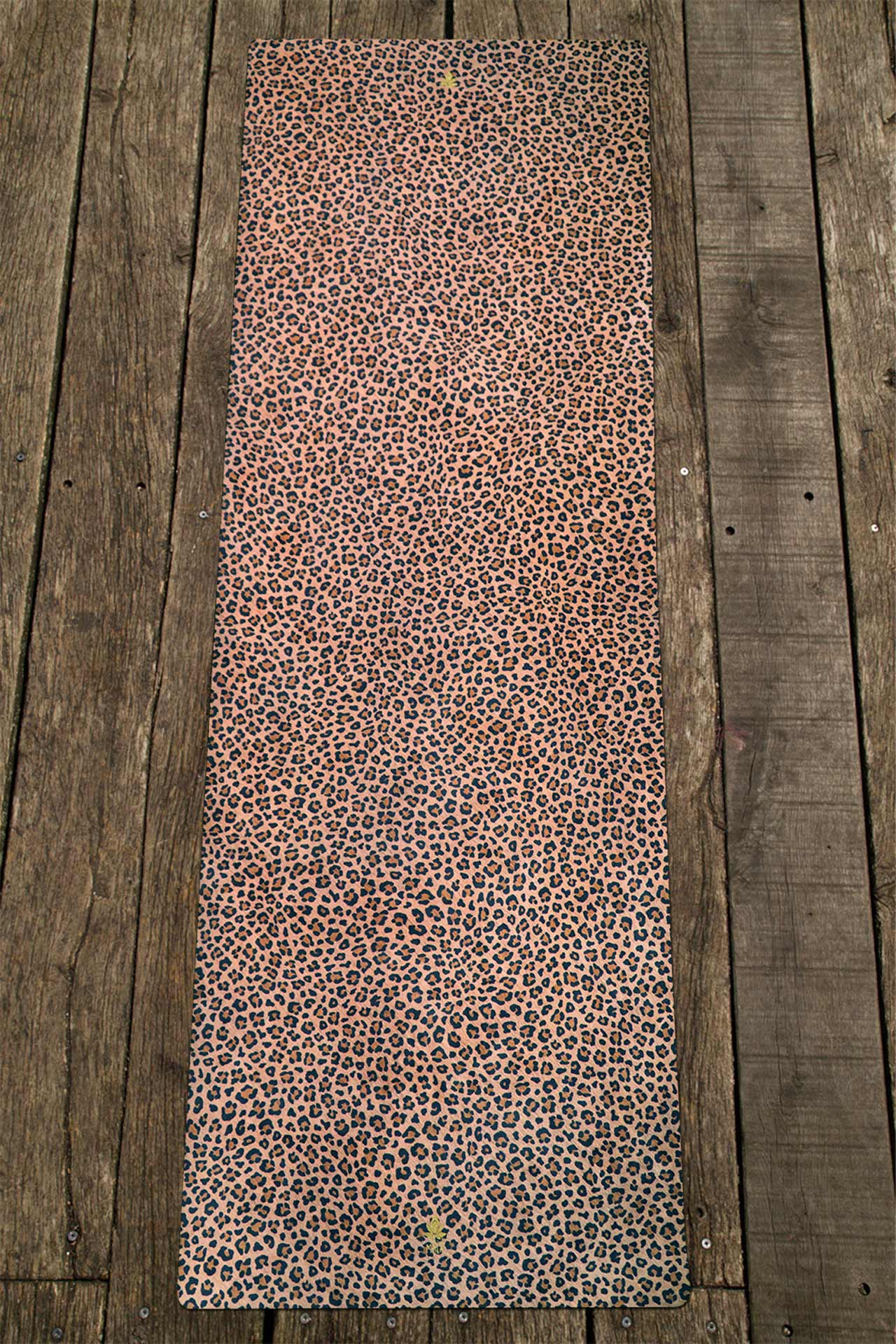 Yogamatte Honey Leopard von Mala