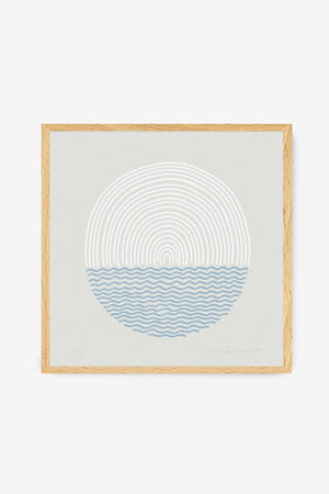 Surf Art Print Sea and Sun Pia Himmelein