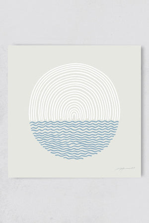 Surf Illustration Sea and Sun Pia Himmelein