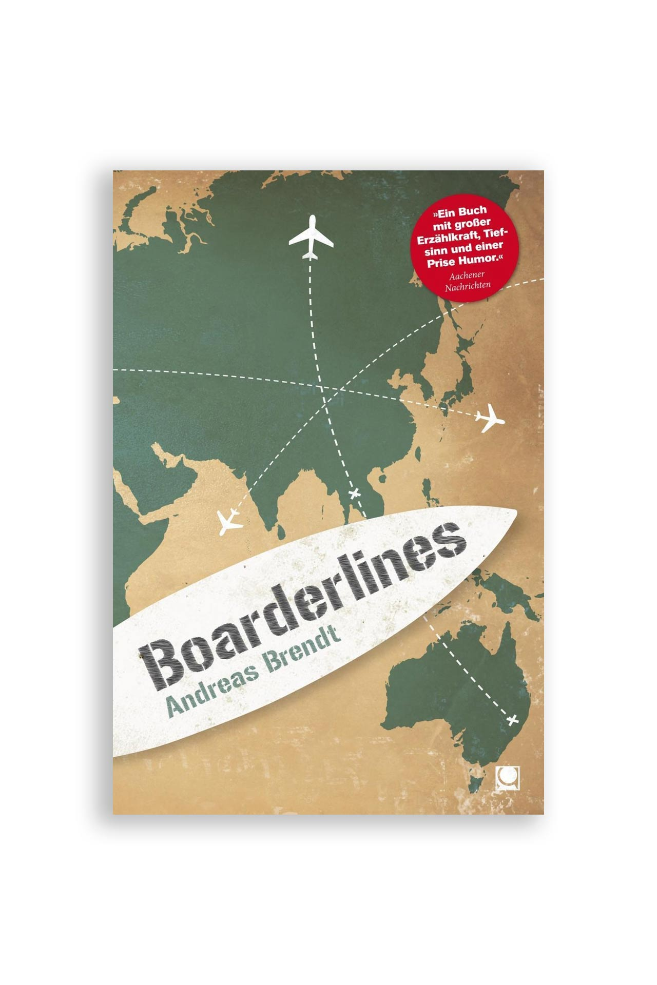 Buch Boarderlines Andreas Brendt