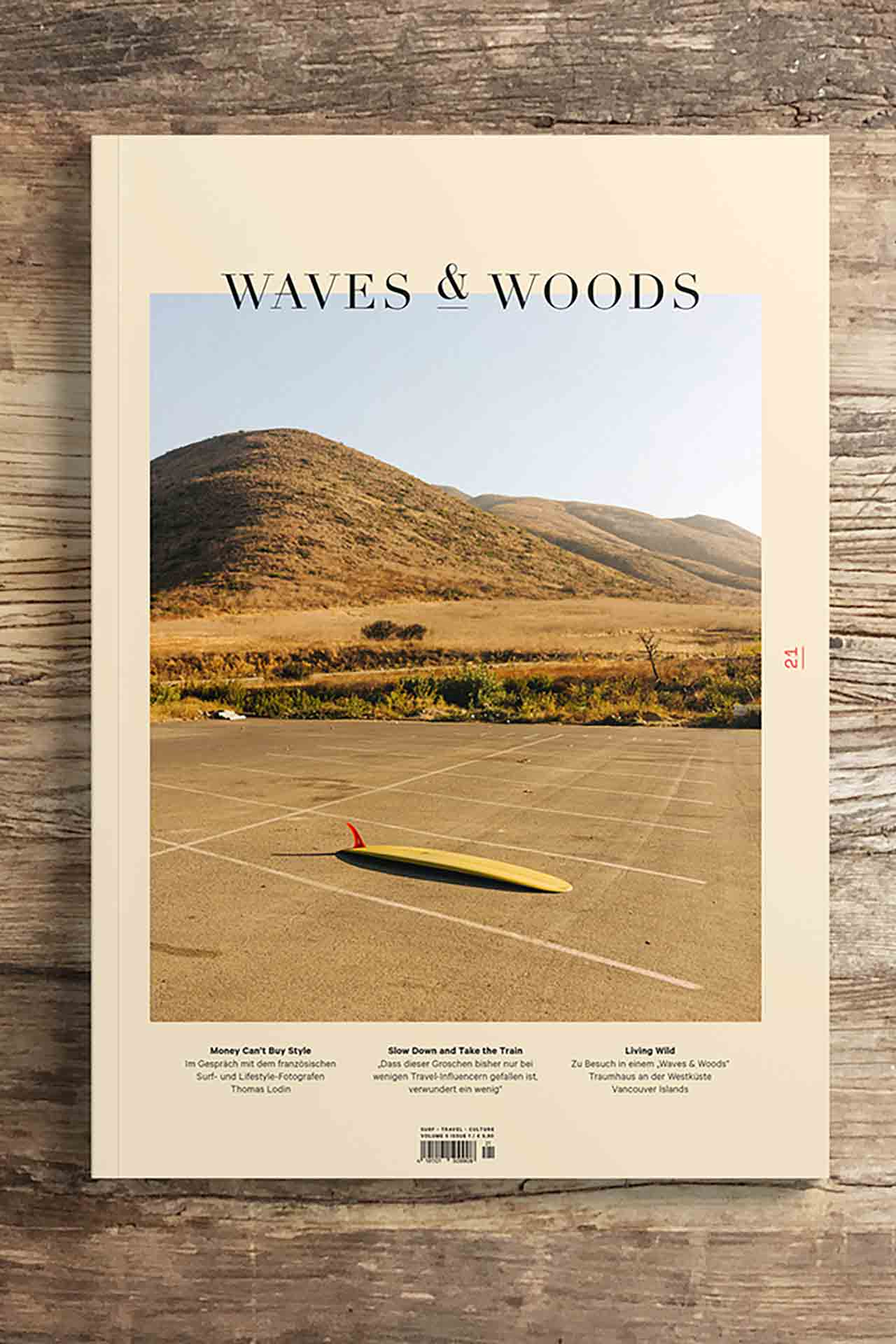 Waves and Woods 21 - Surf Outdoor Vanlife Magazin - neue Ausgabe