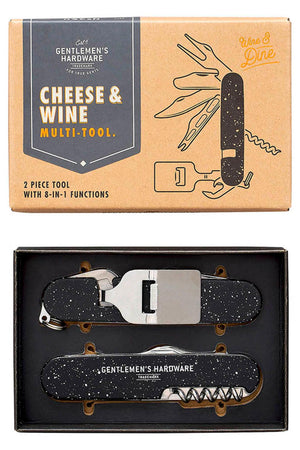 Cheese & Wine Multitool von Gentlemen's Hardware