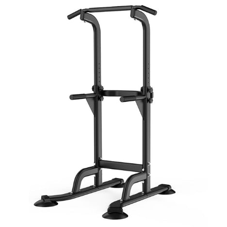 Power Tower Dip Station Pull Up Bar for Home Gym - FREE SHIPPING!