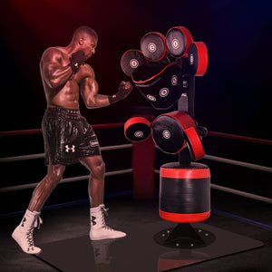 Professional Standing Boxing Target Multi-Point Punching Bag - Free Shipping