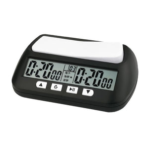 Professional Digital Chess Clock & Game Timer with Bonus and Delay