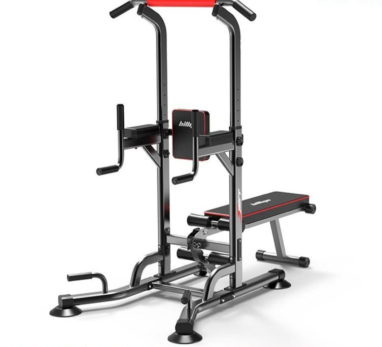 Multifunctional Power Tower Workout, Pull Up, Dip Station with Sit Up Bench - FREE SHIPPING!