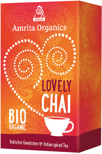 Lovely Chai Tea, organic