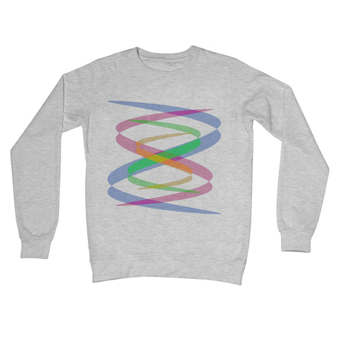 Lissajous Ribbons S38 - Crew Neck Sweatshirt