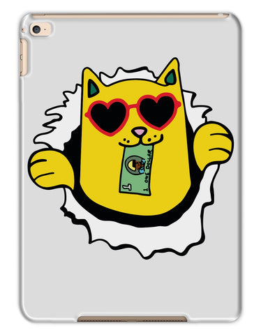 Skateboard Money Cat - Tablet Cases