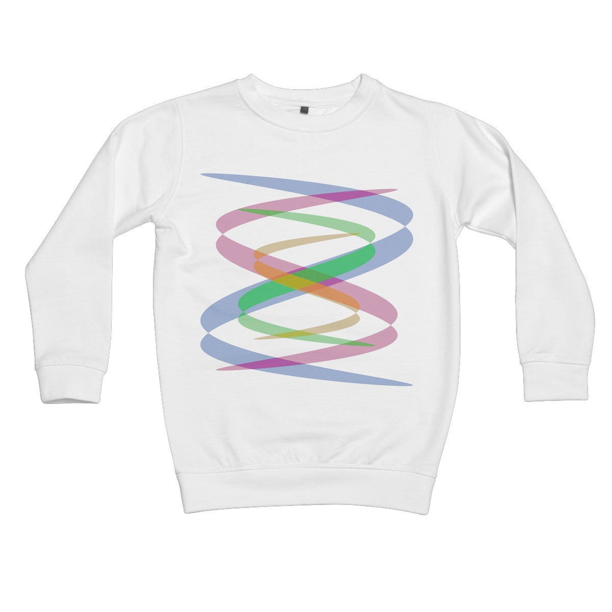 Lissajous Ribbons S38 - Kids Sweatshirt