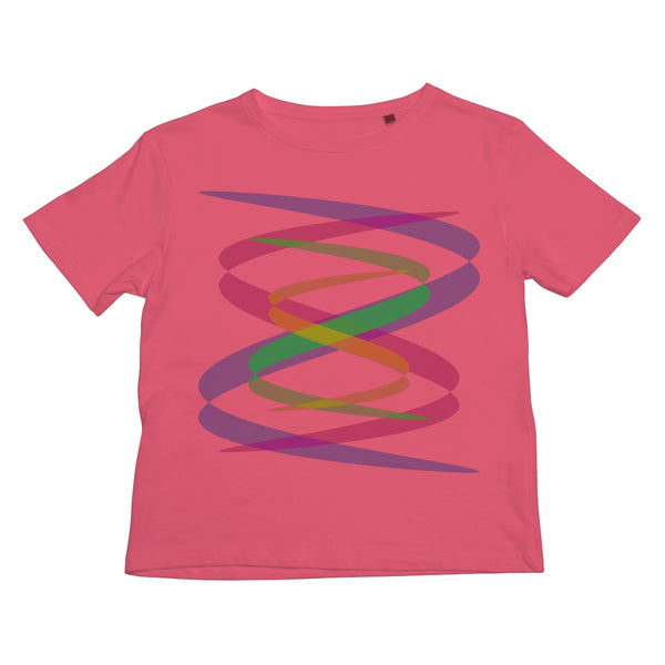 Lissajous Ribbons S38 - Kids T-Shirt