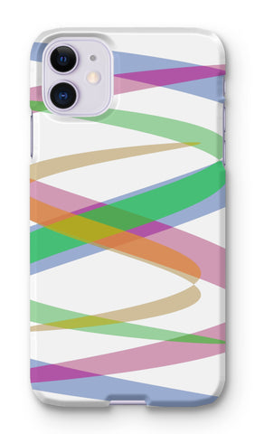 Lissajous Ribbons S38 - Phone Case