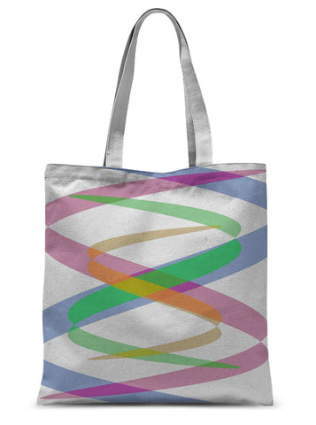 Lissajous Ribbons S38 - Tote Bag