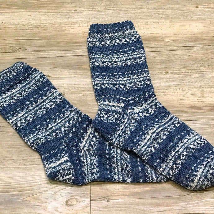 Chrissie Knits - Adult Sock Pattern - 4ply