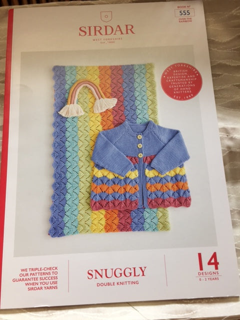 Sirdar Snuggly Pattern Book 0-2 years