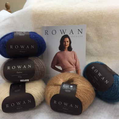 Rowan patina yarn