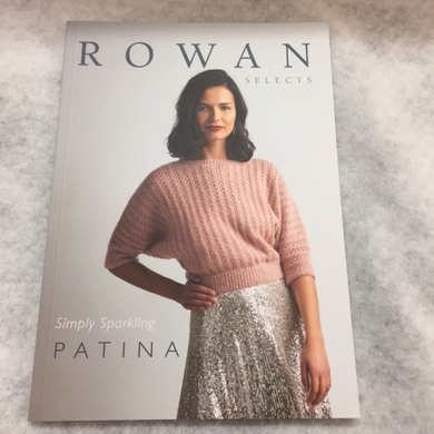Rowan patina yarn pattern book