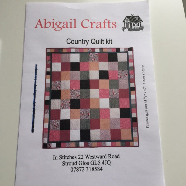 Country Quilt Kit
