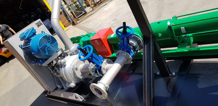 Case Study: Two-Stage Filter Press Pump System Introduced to Great Effect