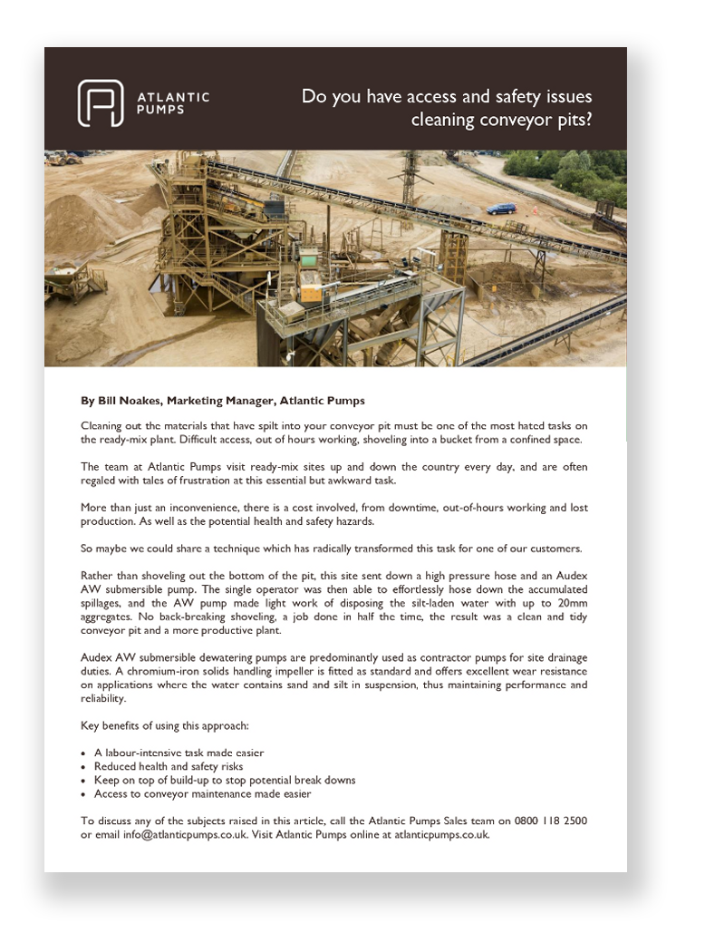 Cleaning Your Conveyor Pit white paper
