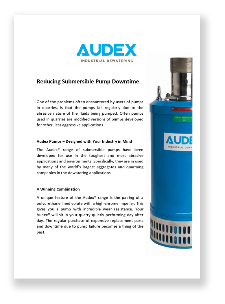 Reducing Submersible Pump Downtime white paper