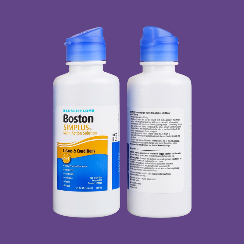 Boston Simplus Multi-action Solution, 3.5oz