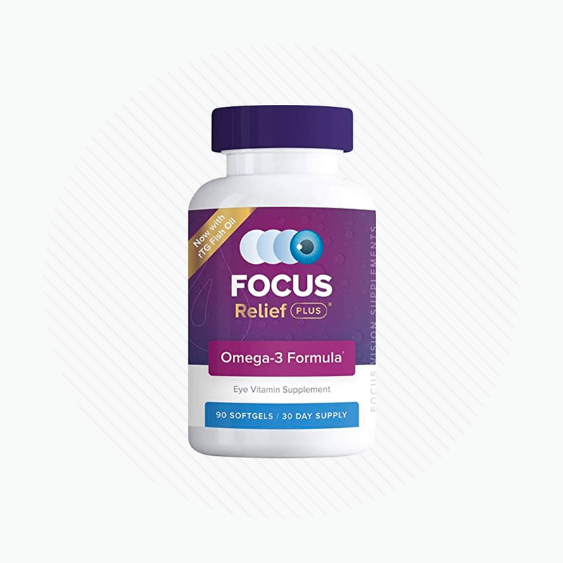 Focus Relief Plus Dry Eye Formula (90 ct. 30 Day Supply)