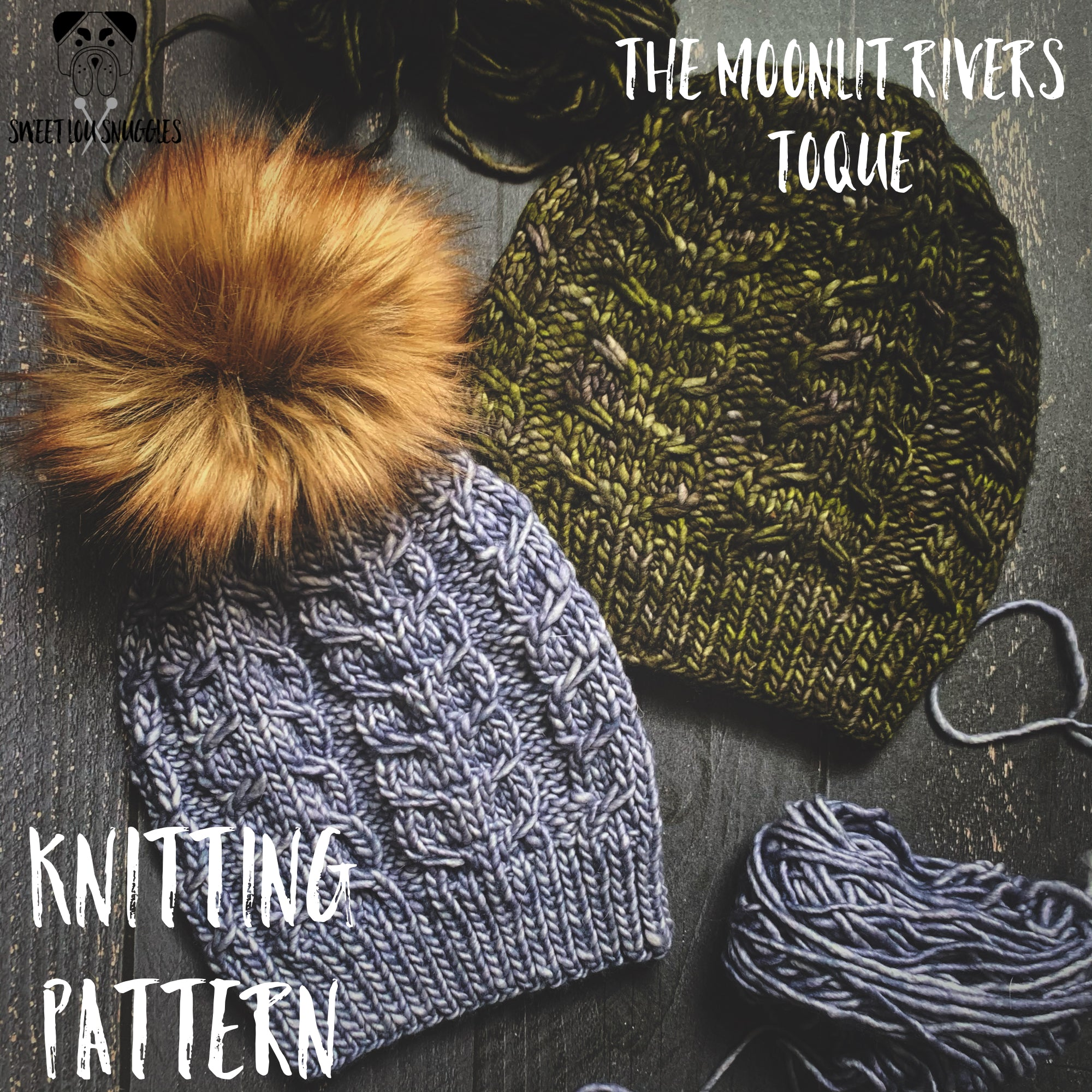 The Moonlit Rivers Toque KNITTING PATTERN
