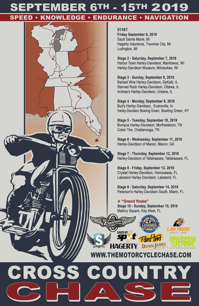 2019 Cross Country Chase Limited Edition Event Poster
