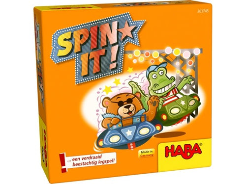 Haba 303745 spel Spin It!