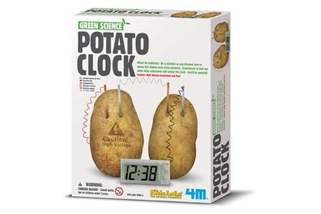 4M Green Science Aardappel klok - potato clock