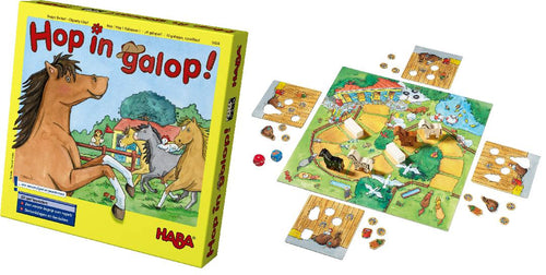 Haba 5434 Spel Hop in galop!