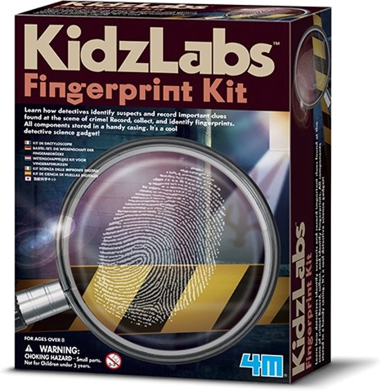 4M KidzLabs 5603248 Spy Science Vingerafdrukken set
