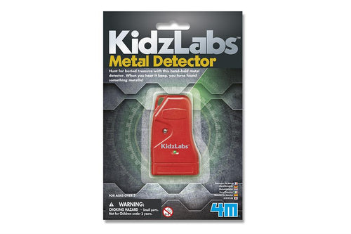 4M Kidzlabs 5603316 Science Card - Metaaldetector