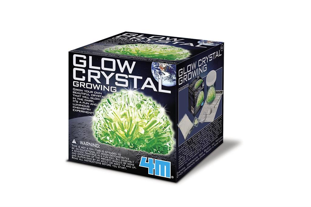 4M Science in action 5603918 Glow in the dark Crystal growing