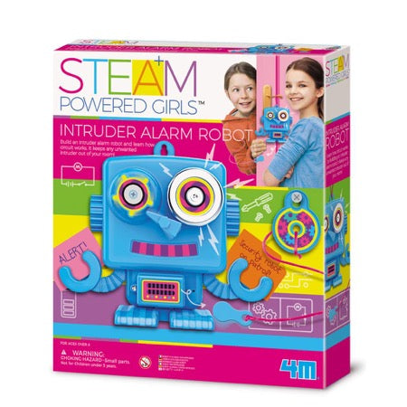 4M Steam Powered Kids - Indringersalarm Robot