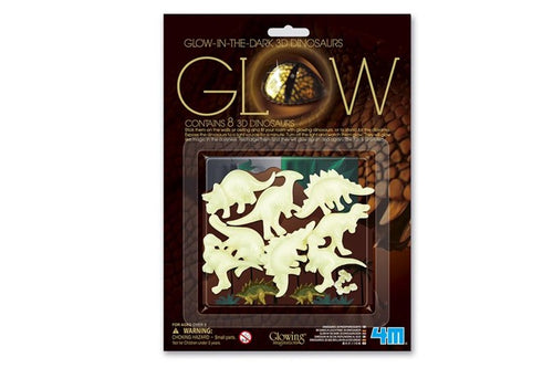 4M Glow in the dark 5605426 3D Dinosaurussen