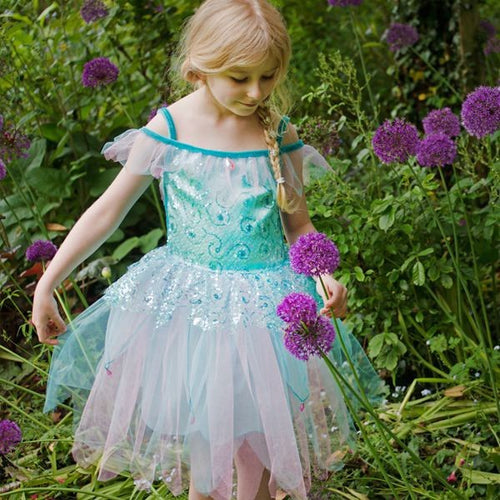 Travis Designs AQF3 Aqua Fairy - Waterfee, maat 3-5 jaar