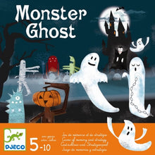 Afbeelding in Gallery-weergave laden, Djeco DJ08445 spel Monster Ghost (geheugen- en strategiespel 5+)