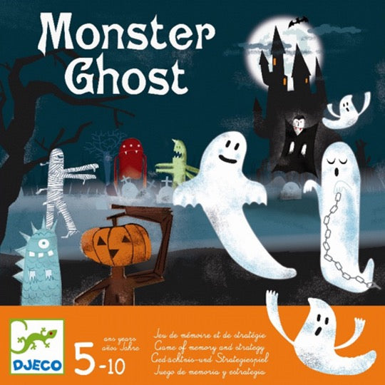 Djeco DJ08445 spel Monster Ghost (geheugen- en strategiespel 5+)
