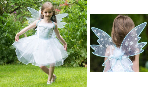 Travis Designs FRTF6 Frozen Fairy Fee, maat 6-8 jaar