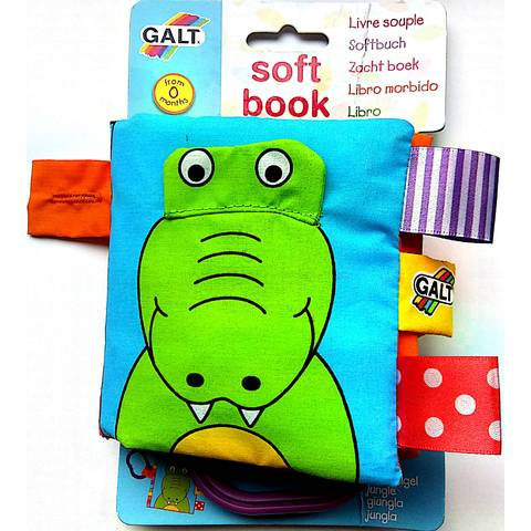 Galt 1003700 Soft Book - Boekje Jungle